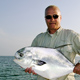 Joe Leskoske with a nice Permit caught in Marathon