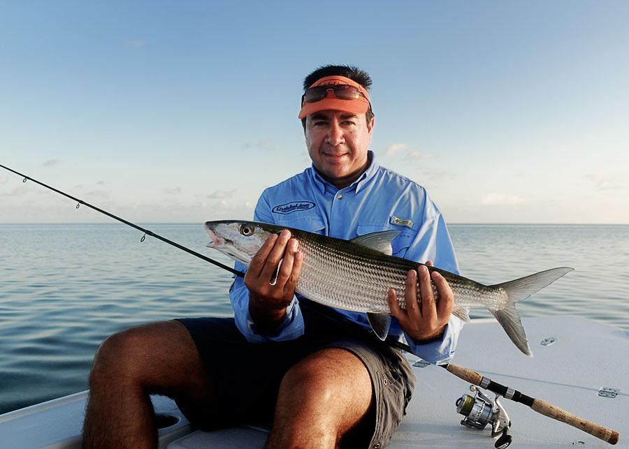 Bonefishing with captain paul fisicaro in marathon florida for Marathon fishing report