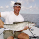 Todd with a monster Bonefish caught in Islamorada