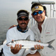 Luciano and me with one of many Bonefish caught